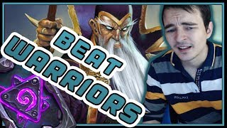 THIS is how you beat Warriors | Spell Mage | Rise of Shadows | Hearthstone