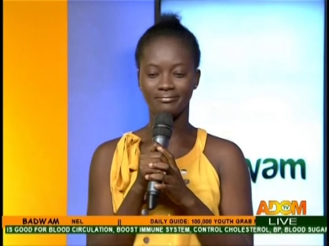 Cowbell In The Sky II - Badwam on Adom TV (18-10-18)
