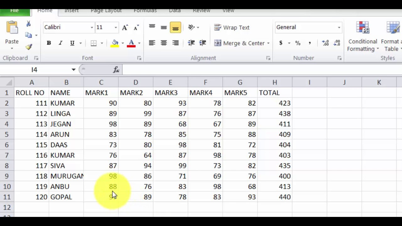 How To Use Vlookup In Excel In Tamil Youtube