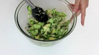 Роскошный, вкусный салат с авокадо. Рецепты Алины.