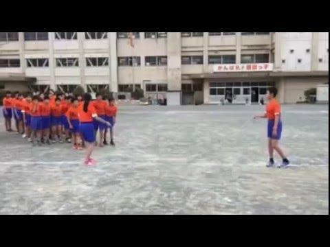 إنضباط و نظام التلاميذ الصينيين  - لعبة القفز على الحبل