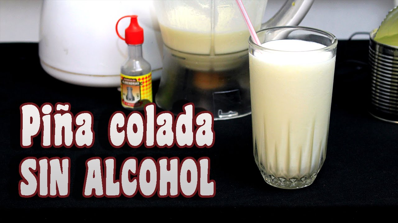 how to make pina colada without alcohol