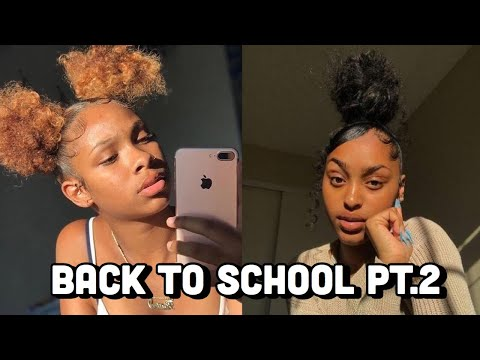 💕BEST BACK TO SCHOOL HAIRSTYLES PT.2📚 | Natural Hairstyles 2019