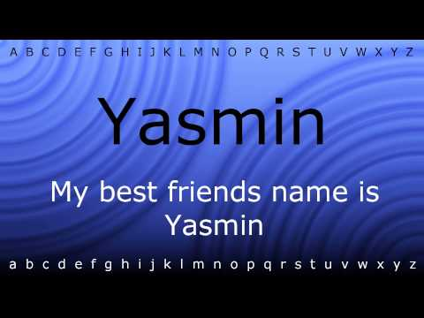 Here I will teach you how to pronounce 'Yasmin' with Zira.mp4