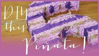 How to make a Piñata!