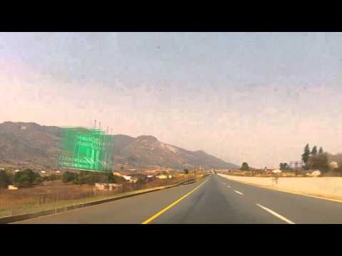 Driving in Swaziland's Route MR3: Motjane to Matsapha