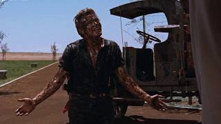 GIANT, George Stevens, 1956 - James Dean Covered in Oil