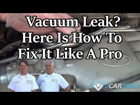How to Find a Vacuum Leak in about a minute!