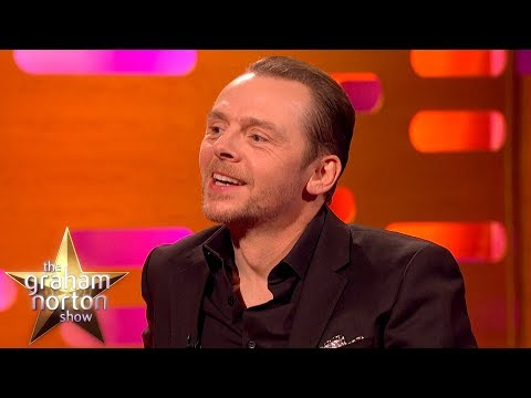 Simon Pegg Was in Star Wars!  The Graham Norton