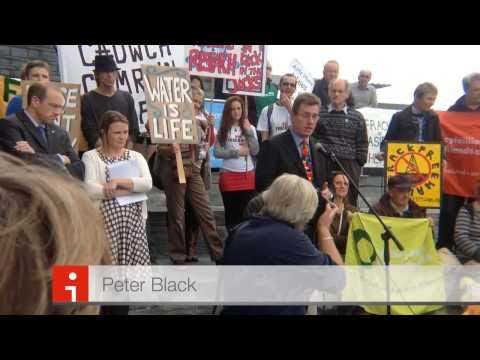 Frack Free Wales/Corporate Greed/Government Collusion (Non shaky version)