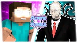 SLENDERMAN vs HEROBRINE! (CreepyPasta vs Minecraft Animation...