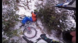 COME GODERSI la NEVE! - Bici-Vlog #7