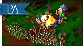 THE HORDES ARE UPON US - 8-Bit Hordes Gameplay