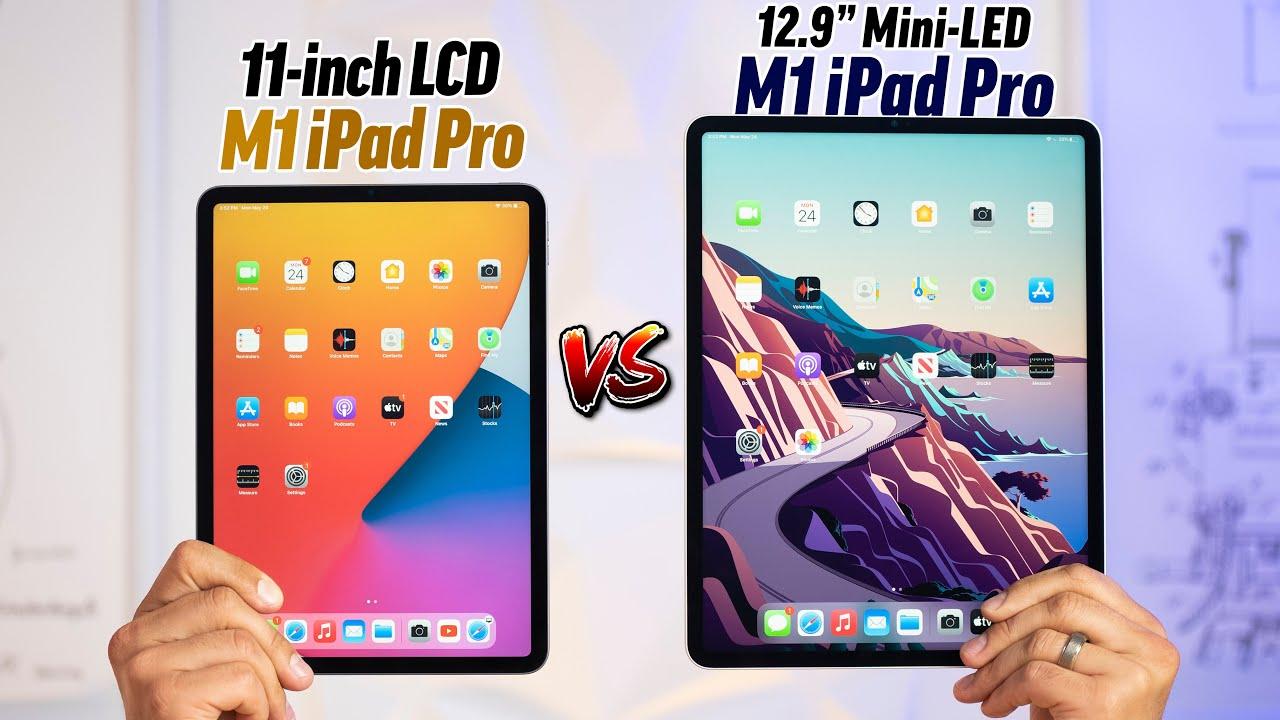 "11"" vs 12.9"" M1 iPad Pro 2021 - Is Mini-LED Worth it? - YouTube"