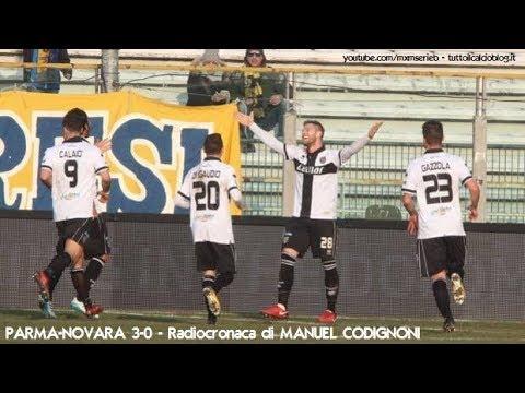 Parma-Novara 3-0 - Radiocronaca di Manuel Codignoni (27/1/2018) da Rai Radio 1