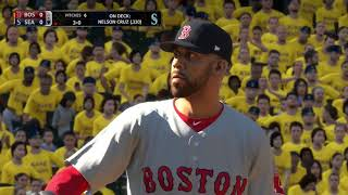 MLB The Show 18 (Boston Red Sox Season Mode) Game #72 - BOS @ SEA