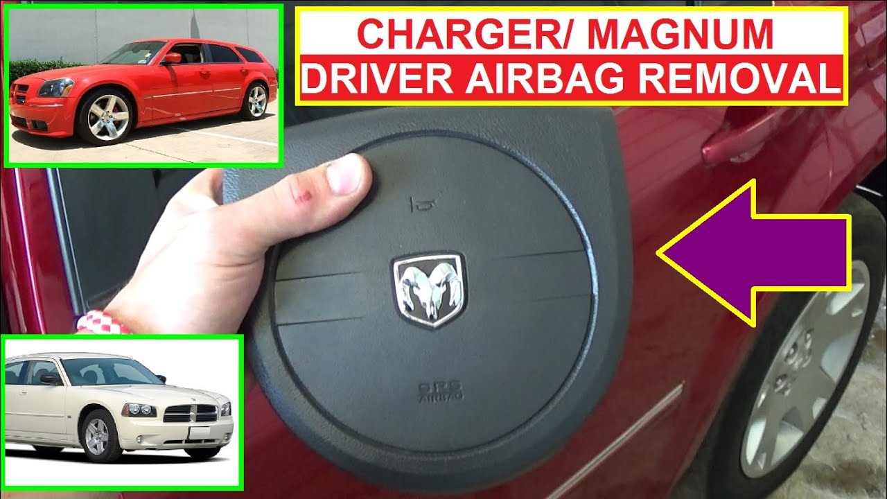 Dodge Charger Driver Steering Wheel Airbag Removal And Replacement 2008 Fuse Diagram Under Hood Magnum