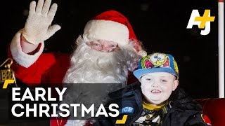 Celebrating One Last Christmas For Terminally Ill Boy