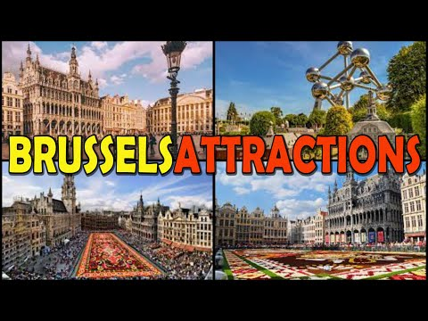 BRUSSELS Travel Guide: Brussels ATTRACTIONS - Belgium (4K)