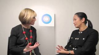 miki tsusaka of bcg interviews of hub culture davos during wef 2013