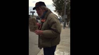 EXPOSED! This FAKE homeless guy scams you and drives a new Ford Escape #ABC7Eyewitness