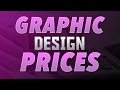 My Graphic Design Prices! Cheap!
