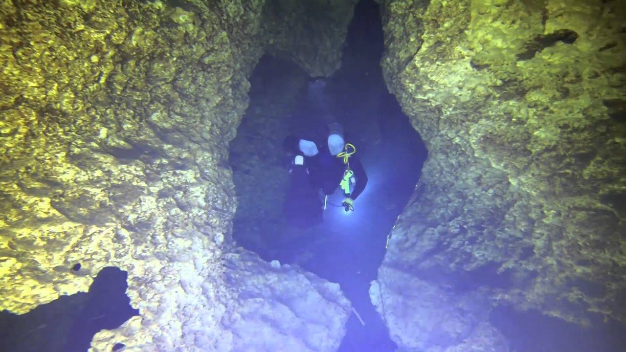 Cave Dive from Peacock Spring to Olsen Sink, Oct 2014 ...