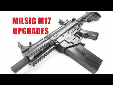 MILSIG M17 UPGRADES