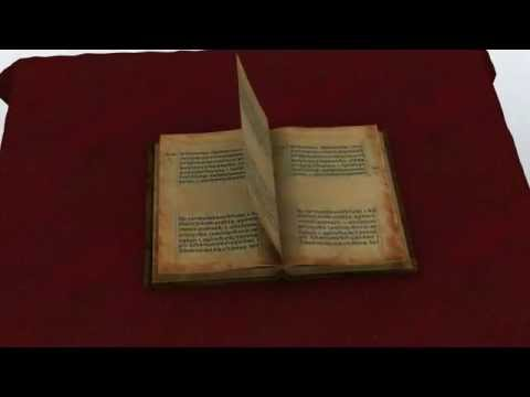 animation of book opening