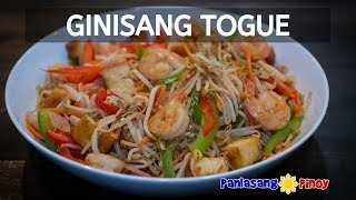How to Cook Ginisang Togue with Shrimp and Tofu