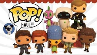 Funko Pop Haul: X-files, Spike, Marge Simpson, Luke Skywalker, Eve, Firefly