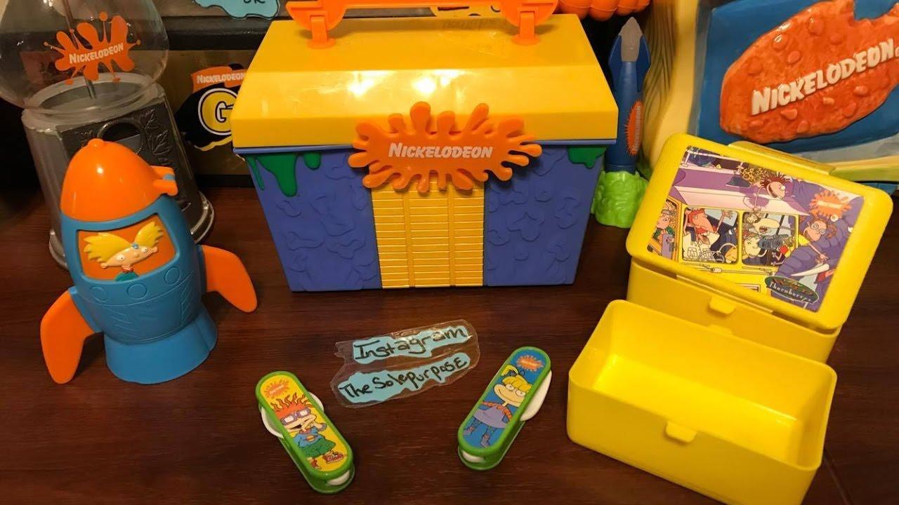 Nickelodeon Lunch Box - YouTube