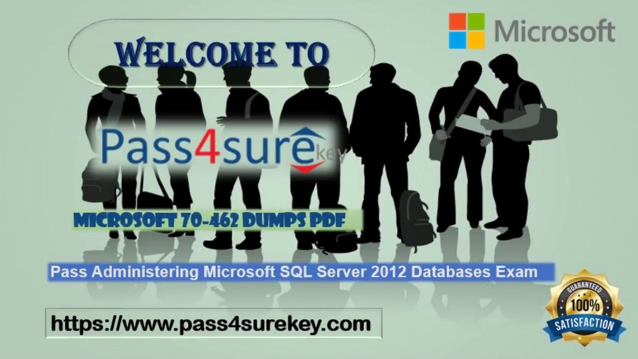 New Mcsa Microsoft 70 462 Dumps 2017 Sql Server 2012 Databases