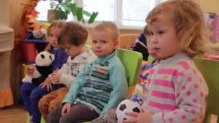 Английский язык для детей от 3 до 4 лет с носителем языка. Частный детский сад