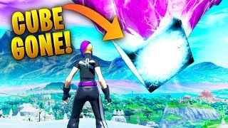 *NEW* CUBE DISAPPEARED!! - Fortnite Funny WTF Fails and Daily Best Moments Ep.1342
