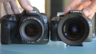 Canon 5D Mark     vs T2i550D Comparison