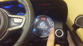 видео Детский электромобиль Porsche Macan O005OO VIP с дистанционным управлением