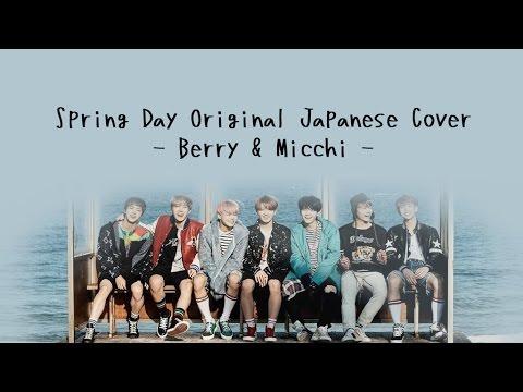 【Berry】 방탄소년단 (BTS) - 봄날 (Spring Day) - 日本語カバー/Japanese Cover - Lyrics Video 【Micchi】