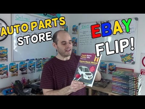 $100+ Profit Auto Parts Store Ebay Flip! - Flips & Finds #13