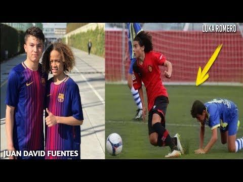6 لاعبين اطفال سيصبحون من المع نجوم كرة القدم بالمستقبل، الثالث يلقب بميسي الجديد