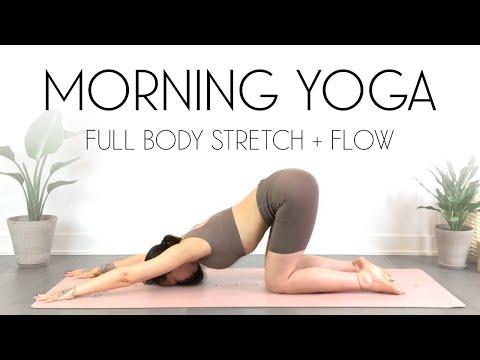 LIVE Yoga Class - 20 Min Morning Yoga Full Body Stretch & Flow