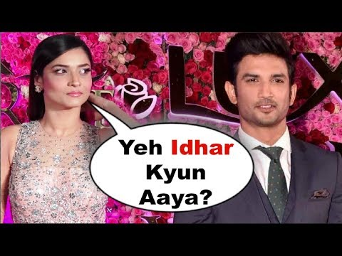 Ankita Lokhande ANGRY Reaction On Seeing EX Sushant Singh Rajput At Lux Golden Rose Awards 2018