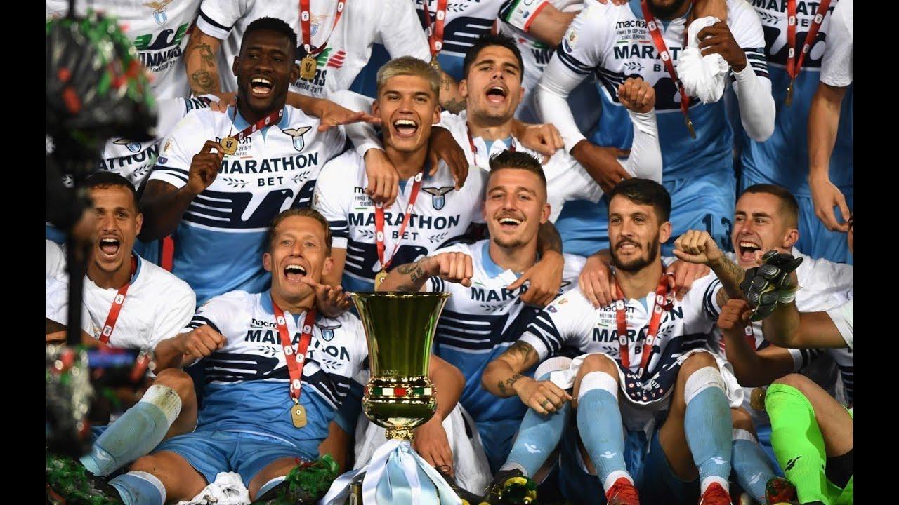 S S Lazio Finale Coppa Italia 2019 The Movie Youtube