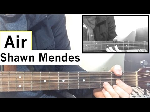 Shawn Mendes Air Chords. ukulele shawn mendes where were you in the ...