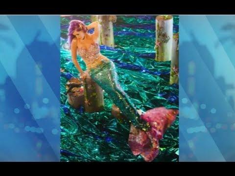 Katy Perry Sexy Mermaid Photos!