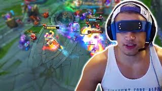tyler1 playing Lee Sin IRL | Doublelift gets OUTPLAYED | Mikyx insane PREDICT | LoL Best Moments