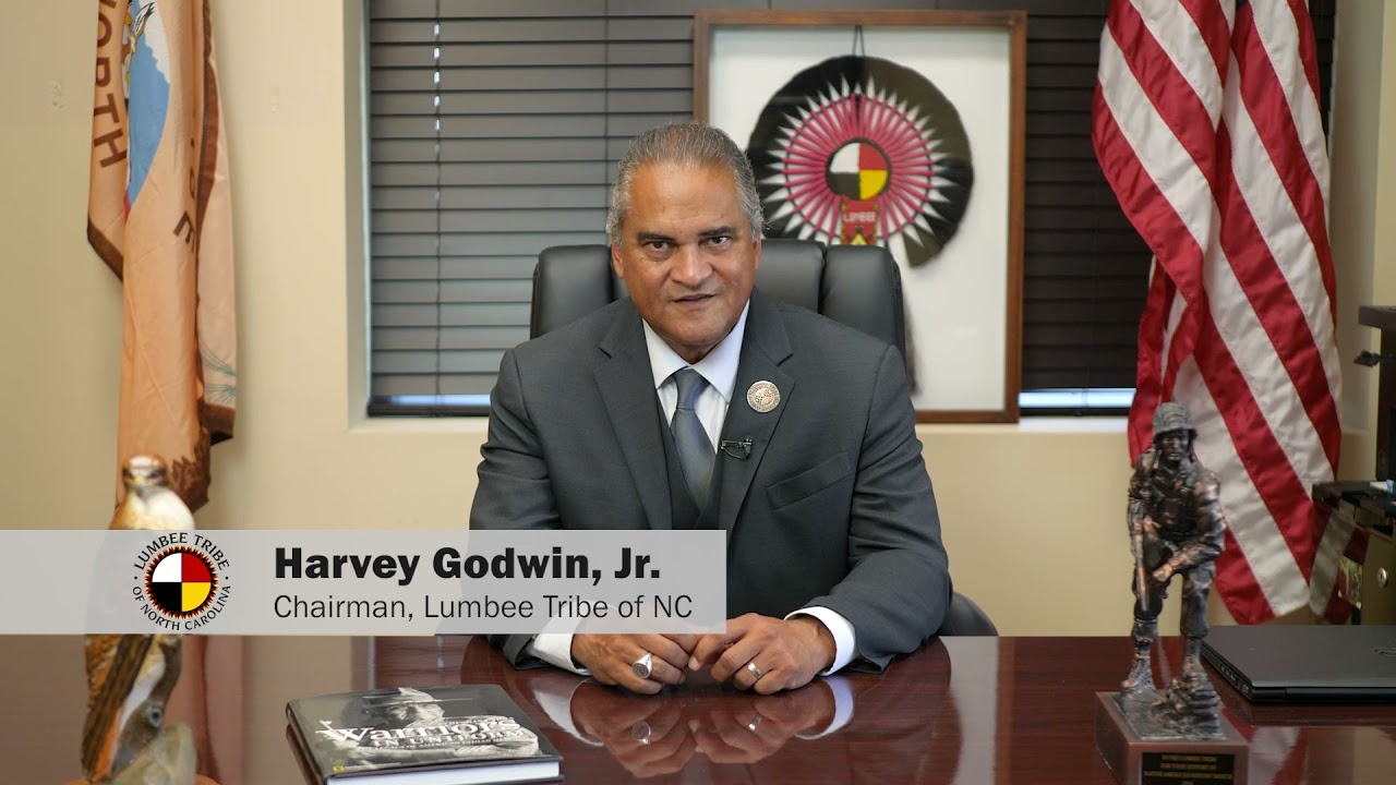 Tribal Chairman Godwin Discusses the Benefits of the Indian Housing Plan for the Lumbee People