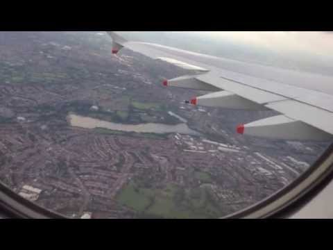 BA25 Departure from LHR to HKG - Onboard View
