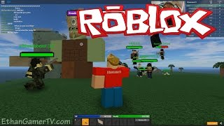 Ethan plays Roblox: Monster Islands - GOBLINS!!!!! | KID GAMING