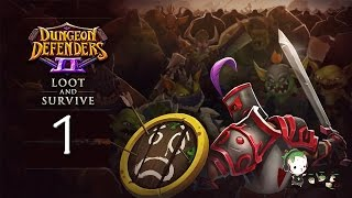 dungeon defenders 2 1   wipeaggedon   loot and survive